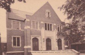 RALIEGH , NC , 00-10s ; Poindexter Memorial Sunday School Building, Methodist...