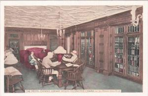 New Jersey Atlantic City The St Denis Library Interior In Hotel Denis