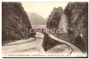 Old Postcard Haute Vallee Du Pont De Gueydan Var La Porte Du Haut Var