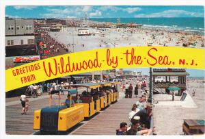 Miniature Train , WILDWOOD-by-the-SEA , New Jersey , 50-60s
