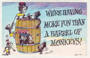 P838 comic we are having more fun the a barrel of monkeys