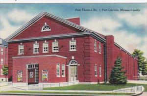 Massachusetts Fort Devens Post Theatre No 1