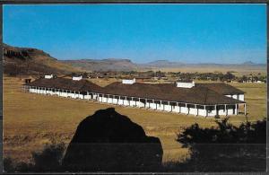 Texas, Fort Davis NHS, Mens Barracks, unused