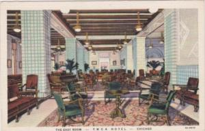 Illinois Chicago The East Room Y M C A Hotel 1934 Curteich