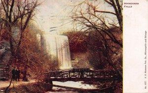 Minnehaha Falls, Minnesota., Early Postcard, Used in 1907
