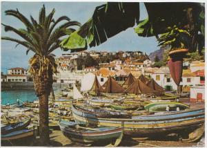Portugal, CAMARA DE LOBOS (MADEIRA), Fishing Village, used Postcard