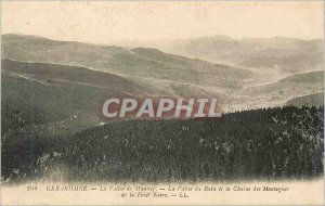 Old Postcard Gerardmer La Vallee La Vallee Munster of Ruin and the Chain of M...
