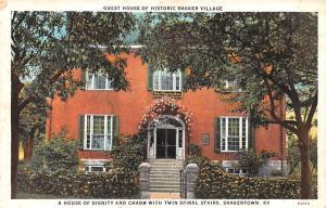 Shaker Postcards Old Vintage Antique Post Cards Guest House Unused