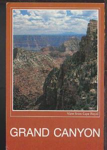 Grand Canyon AZ Postcard BIN