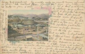 Japan Union Postale Universelle Carte Postale Nanko Temple Kobe 1900s postcard