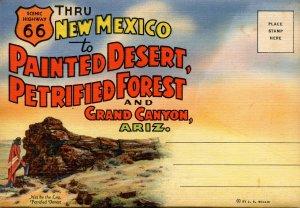 Folder - Painted Desert, Petrified Forest, Grand Canyon  18 views + narrative