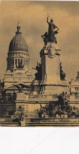 Monument To The Two Congresses In Congress Square, Buenos Aires, Argentina,...