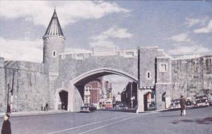 St. Jean Gate, Quebec City, Quebec, Canada, 40-60s