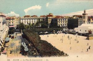 ALGER .- La Place du Gouvernment , 00-10s