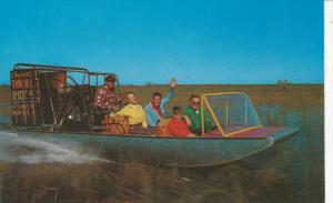 Airboat Rides and Restaurant, COOPERTOWN, Florida, 40-60s
