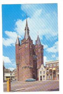 Partial Street Scene, Sassenpoort, Zwolle, Netherlands, 1940-1960s