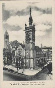 New York Albany St Peters Protestant Episcopal Church Artvue
