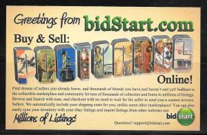 USA Bidstart online auctions, unused
