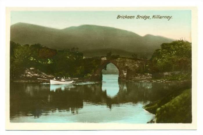 RP; Brickeen Bridge , Killarney , Ireland , 1920-40s