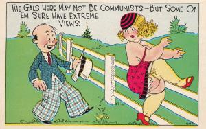 The Gals here may not be Communists-But some of'em sure have extreme views,15-30