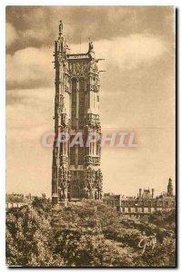 Old Postcard Paris and Wonders Tour St. Jacques 1508 1522 rest of the church ...