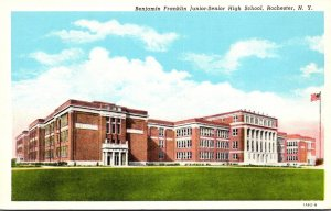 New York Rochester Benjamin Franklin Junior-Senior High School 1953 Curteich