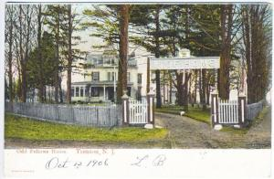 Trenton NJ I.O.O.F. Odd Fellows Home 1906 Postcard