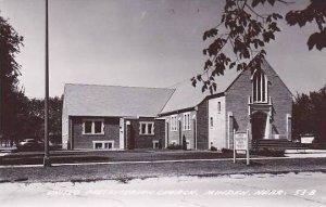 Nebraska Minden United Presbyterian Church Real Photo RPPC