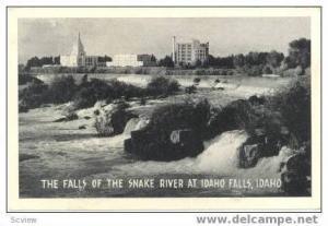 Latter Day Saints Temple, Nurses Home, & Hospital, Snake River, Idaho Falls, ...