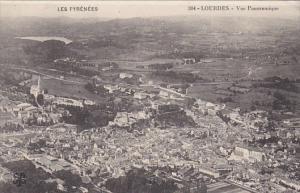 France Lourdes Vue panoramique