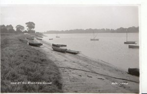 Yorkshire Postcard - By The Riverside - Goole - Real Photograph - Ref 3951A
