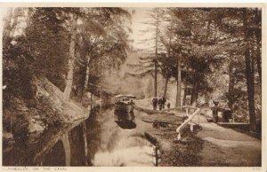 Wales Postcard - Llangollen On The Canal - Denbighshire - Ref 3259A