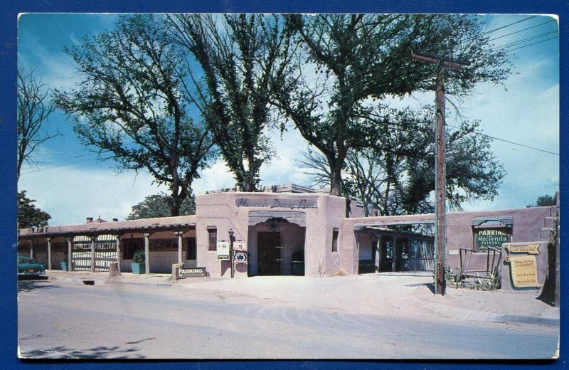 La Hacienda Dining Room Old Town Plaza Albuquerque New Mexico Route 66 Postcard