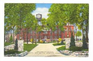 Administration Building, Central Bible Institute, Springfield, Missouri, 20-40