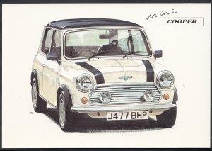 Road Transport Postcard - 1.3i Mini Cooper Motor Car   A7619