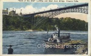 Maid Of The Mist, Niagara Falls, New York, NY USA Ferry Postcard Post Card Ol...