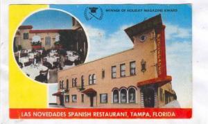 Las Novedades Spanish Restaurant, Tampa, Florida, 40-60s