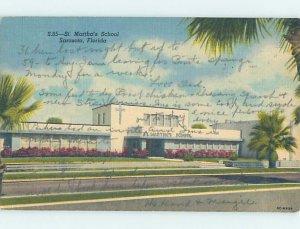 Pre-Chrome SCHOOL SCENE Sarasota Florida FL AH0075