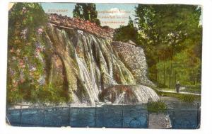 BUDAPEST, Margitszgeti vizeses Wasserfall an der, Margaretenimsel, Hungary, 0...
