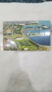 Antique Postcard, St. Petersburg's New and Modern Baseball Field