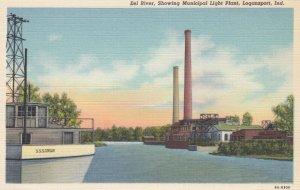 LOGANSPORT , Indiana , 1930-40s ; Municipal Light Plant