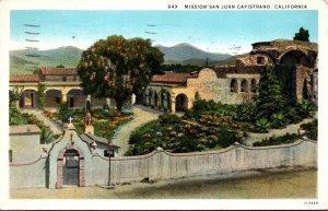 California Mission San Juan Capistrano 1929