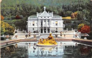 Kgl. Schloss Linderhof Brunnen Fountain Castle