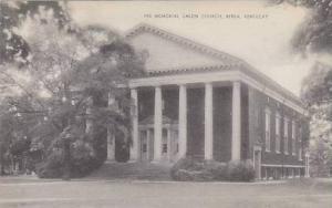 Kentucky Berea Fee Memorial Union Church Artvue