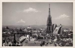 Wien mit Stephansdom , Austria , PU-1959