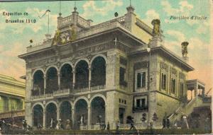 Belgium Exposition de Bruxelles 1910 Pavillon d´Italie 02.37