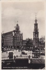 RP; AMSTERDAM, North Holland, Netherlands; Munt met Carlton-Hotel, 10-20s