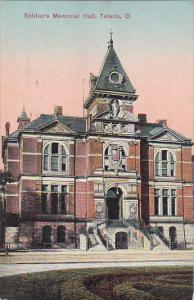 TOLEDO, Ohio, PU-1909; Soldier's Memorial Hall