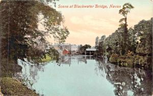 NAVAN IRELAND UK~SCENE AT BLACKWATER BRIDGE POSTCARD