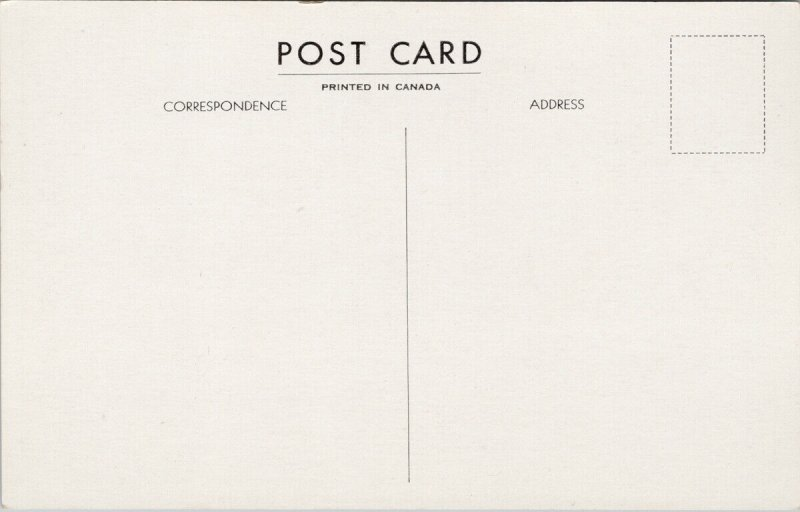 Locarno On The Village Haliburton Ontario Unused Postcard F33